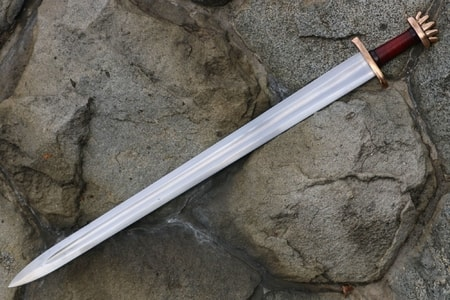 how to make a wooden viking sword