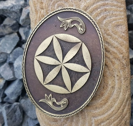 SVARGA, belt buckle