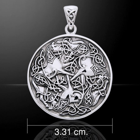 Celtic Knotted Horses Symbol