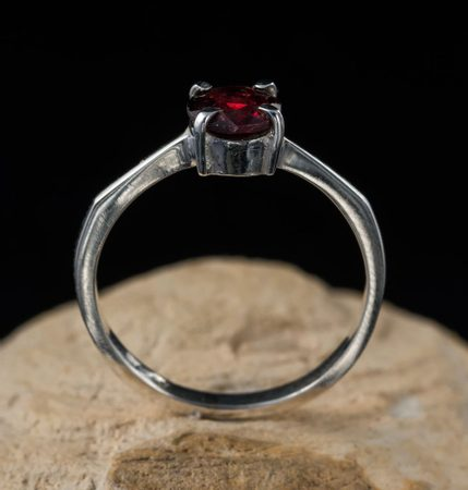 GARNET | Silver Rings Wholesale