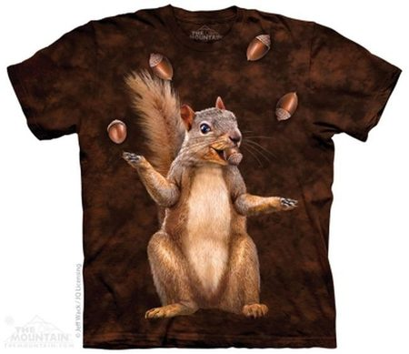 Nut Juggler - Squirrel T-Shirt The Mountain
