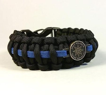 PARACORD BRACELET - Czech Police support
