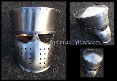 Early Great Helm - wulflund com