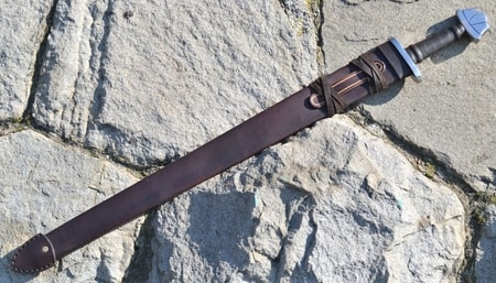 Scabbard for a Viking Sword from leather
