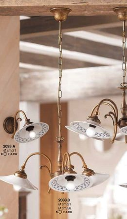 REPUBLICA LUMIERE EN PORCELAINE 2033-3