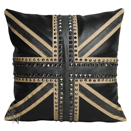 Union Jack Studded Cushion