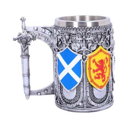 TANKARD OF THE BRAVE SCOTTISH SHIELD MUG