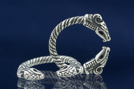 DREKI, sterling silver ring