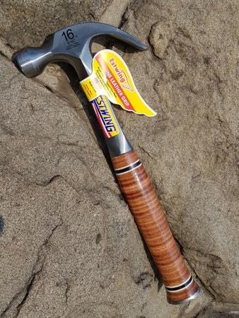 CLAW HAMMER leather grip ESTWING USA - wulflund com