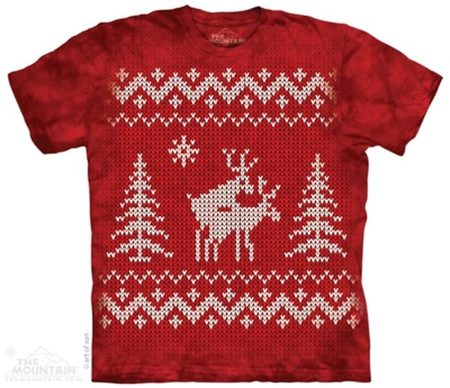 Swedish Reindeer Style, T-Shirt The Mountain