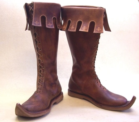 NOTTINGHAM, medieval boots