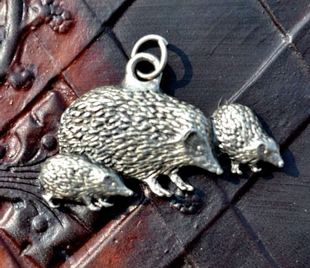 Hedgehog pendant Jewel