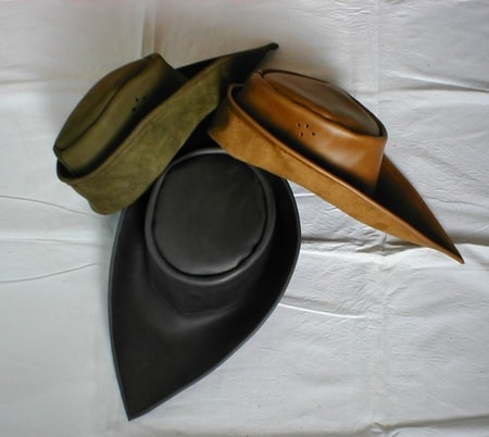 MEDIEVAL LEATHER HAT