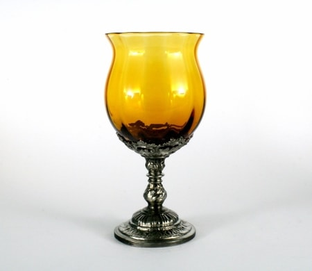 AMBRA, historical czech glass with tin