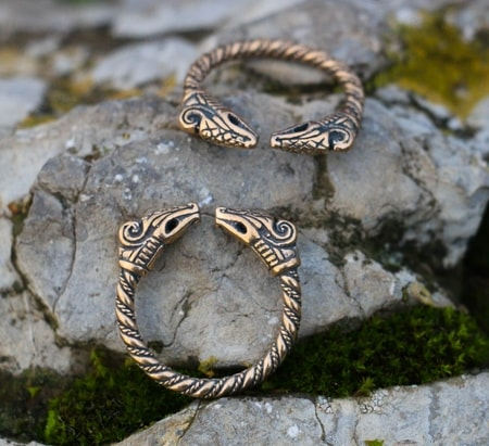Dreki Viking Dragon Bracelet Wulflund Com