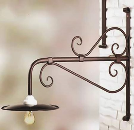 FERRUM IRON WALL LAMP 2052-1
