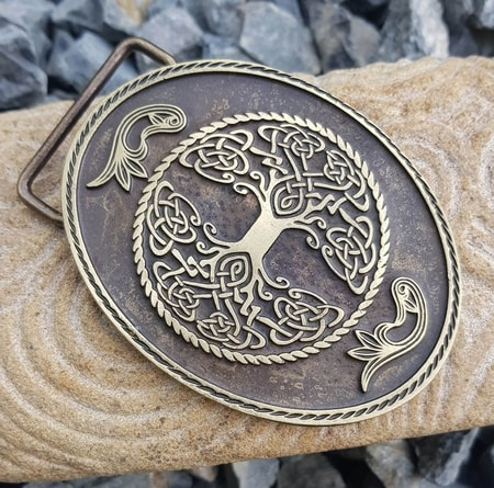 TREE OF LIFE, BELT BUCKLE