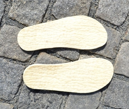 Woolen Insoles for Historical Shoes