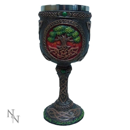 Tree Of Life Goblet, Wiccan & Witchcraft