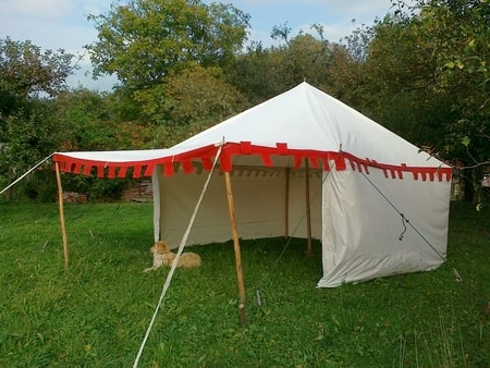 MEDIEVAL TENT 4 x 4 m & Medieval Tents Gothic Tents Medieval Pavilions Historical Tents ...
