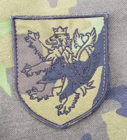 Czech Lion vz95 camo, patch