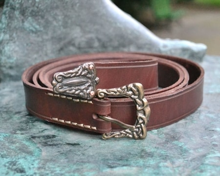 VÍKINGR, viking leather belt