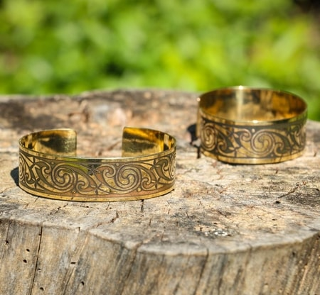 BANBHA, brass bangle, Made in Ireland