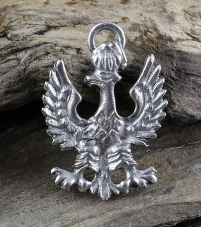 Slavs wulflund coat of arms of poland eagle tin pendant mozeypictures Images