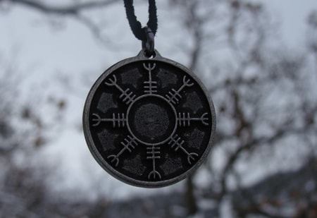 HELM OF AWE - Icelandic Pendant