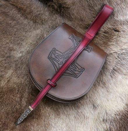 MJÖLLNIR, VIKING LEATHER BAG