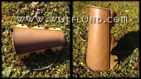 Leather Archery Equipment - Archer Bracer - Leather Archer Tab - Leather Quiver - Bows and Arrows