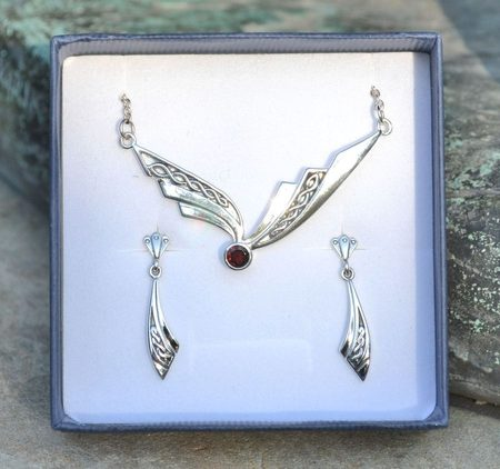 MODERNA CELTICA, sterling silver jewelry set
