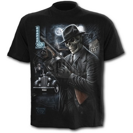 GANGSTER - T-Shirt Black