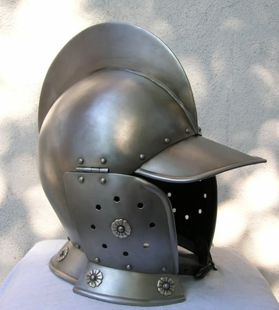 Medieval HELMET with Face Mask