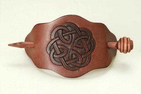 HAIR CLASP - celtic knot