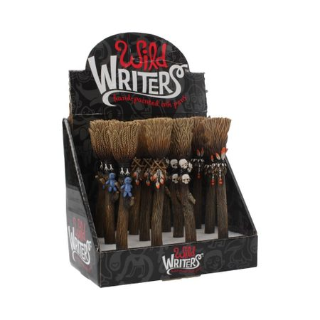 WILD WRITERS BROOMSTICK PEN