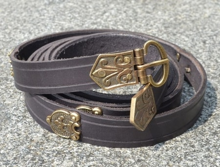 SLAVIJA, early medieval belt, replica