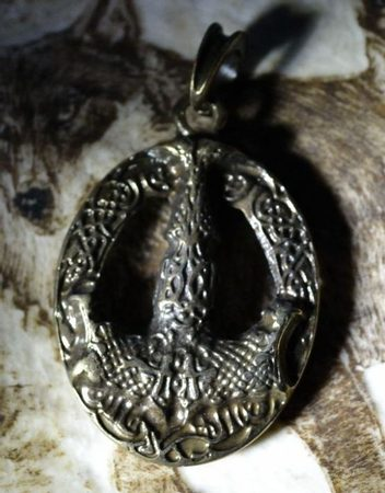 MJOLLNIR, double sided viking pendant