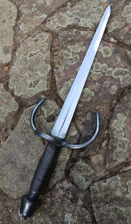 MORETO, DAGGER WITH A RING GUARD