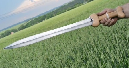 La Tene Sword, sharp replica