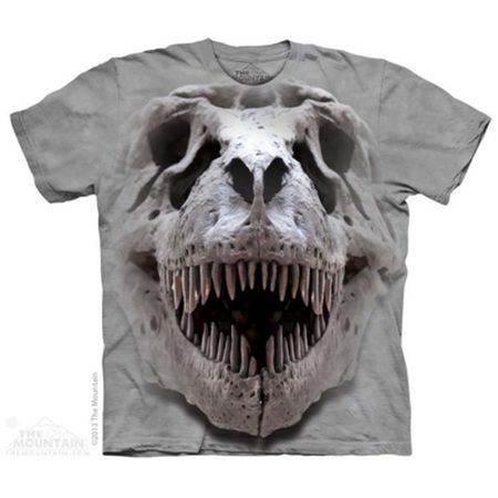 T-Rex Big Skull - Dinosaur T-Shirt The Mountain