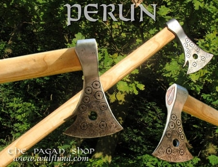 AXE OF PERUN, forged axe