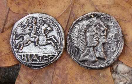BIATEC, celtic tetradrachm coin