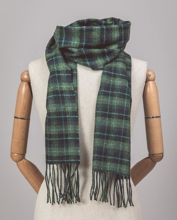 FERN, Tartan Irish Scarf, lambswool