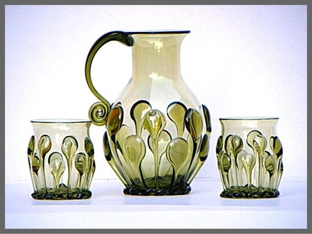 MEDIEVAL GOTHIC SET, forrest glass