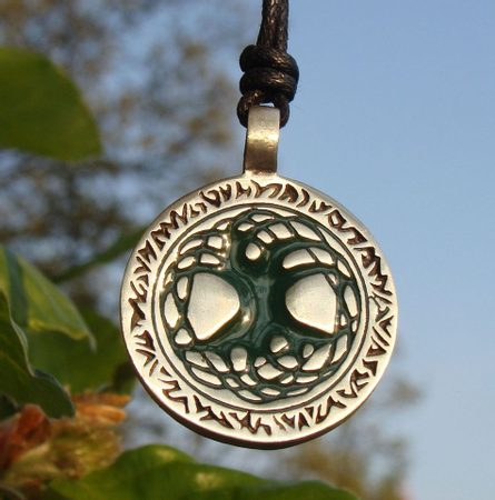 TREE OF LIFE, pewter pendant