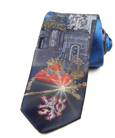 PRAGUE AND CROWN JEWELS, TIE