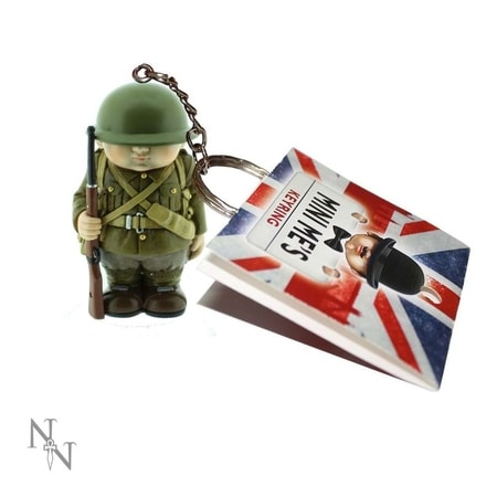 Mini Me Keyring - WW1 British soldier