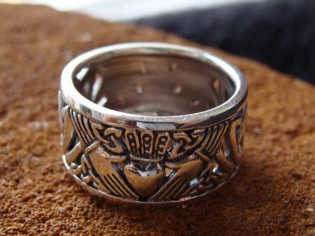IRISH RING, CLADDAGH - IRT-002