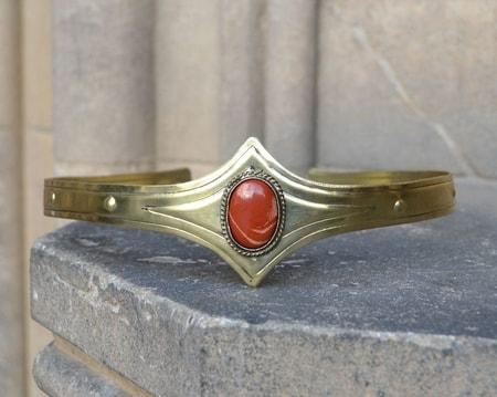 Medieval Gothic Crown With Jasper Wulflund Com